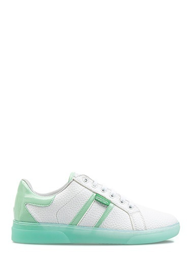 Benetton Bn30122 Kadın Spor Ayakkabı Beyaz